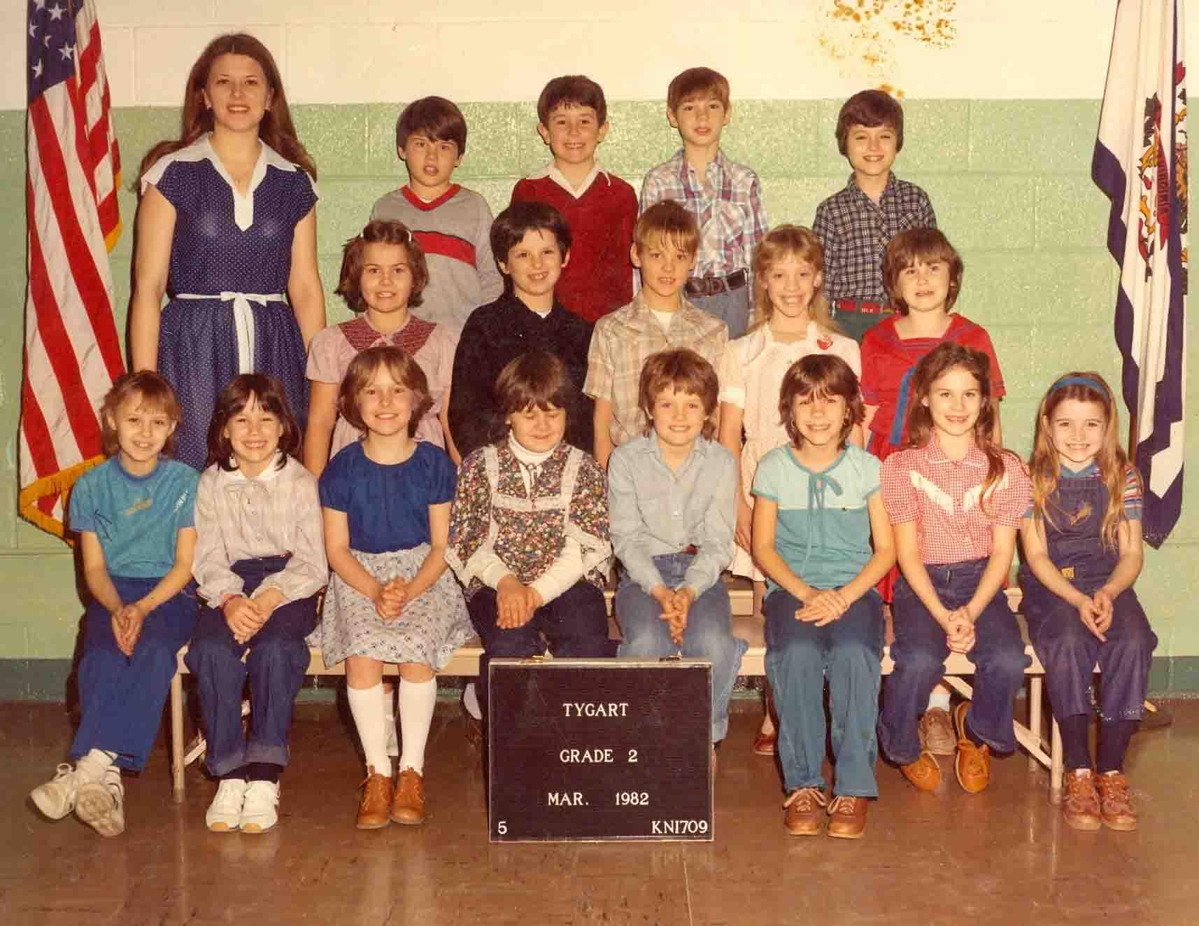 TYGART SCHOOL 1982 2nd 3RD GRADE