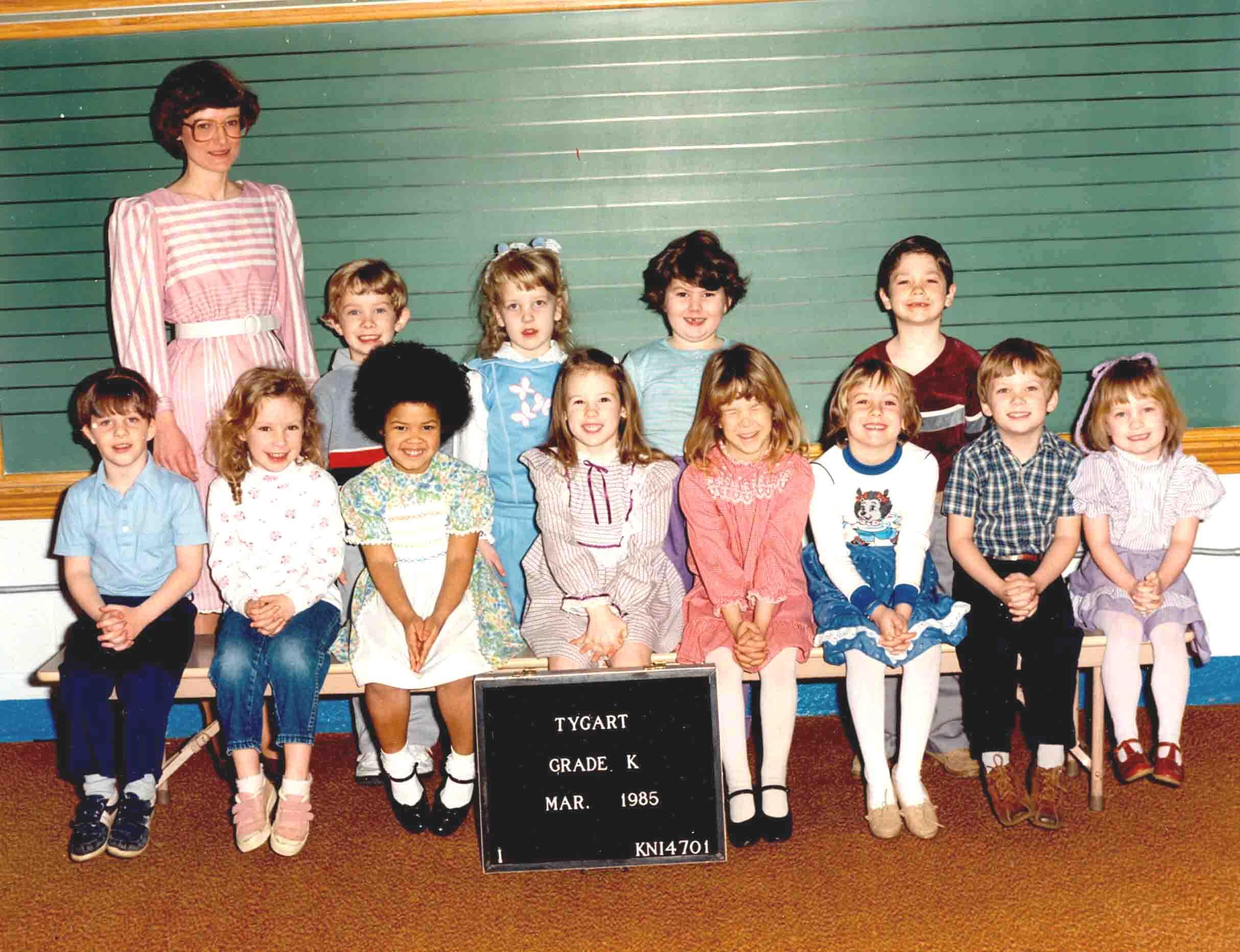 1985 k 1st grade